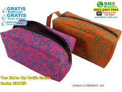 Tas Make Up Batik Sania