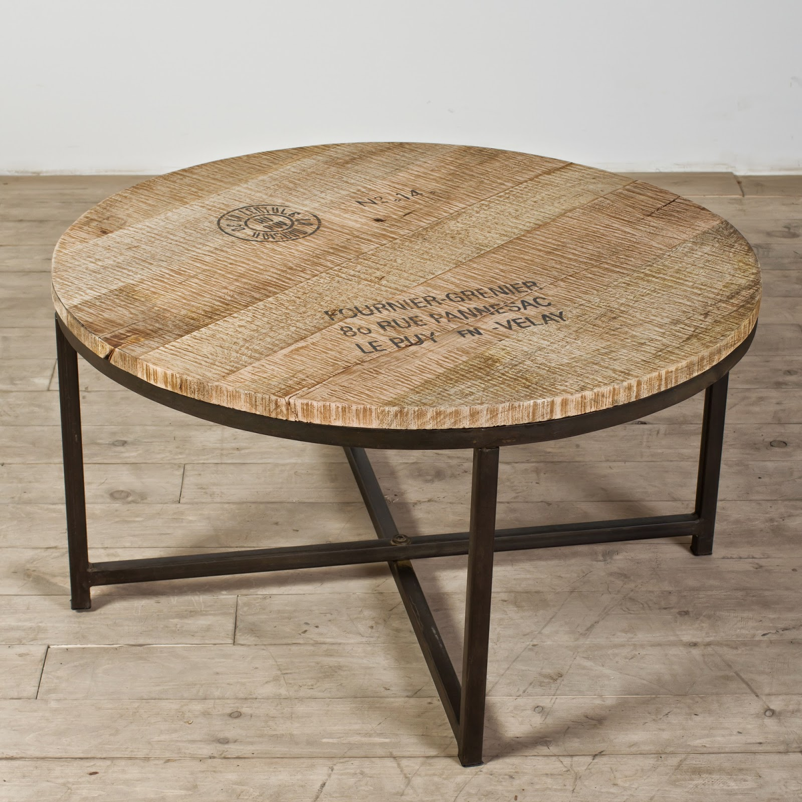 inspired nesting: round coffee table search is over