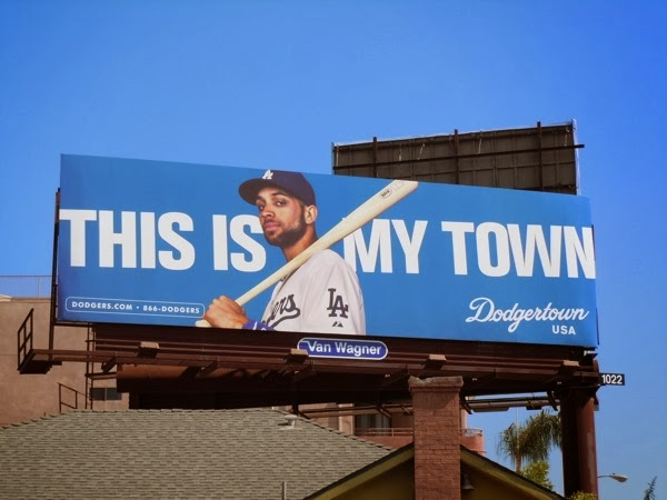This is my town Dodgertown billboard Jun 2010