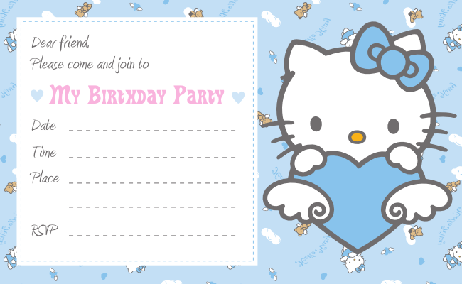 Hello kitty invitation party and cake topper best gift ideas blog here for you hello kitty party invitation card and cake topper stopboris Image collections