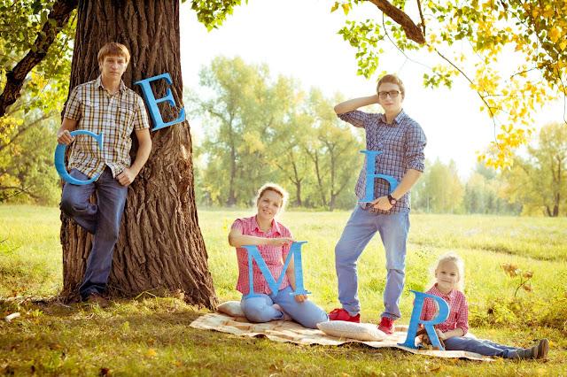 Темы фотосессий для семьи