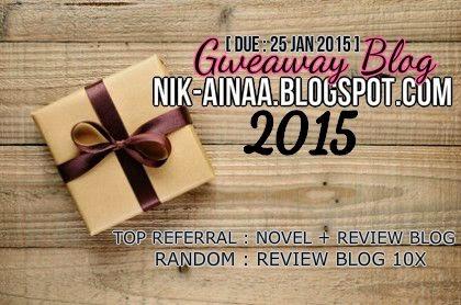 Giveaway Blog nik-ainaa.blogspot.com 2015