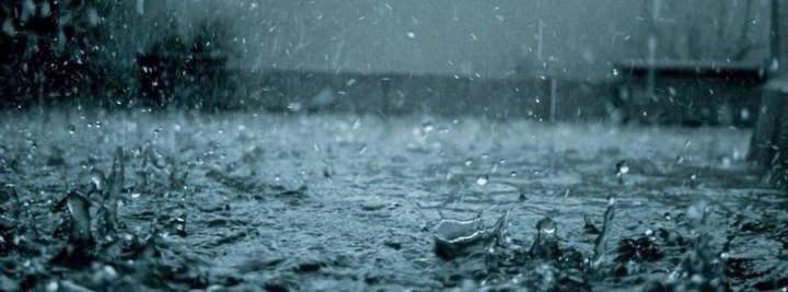 غلاف فيس بوك قطرات مطر
