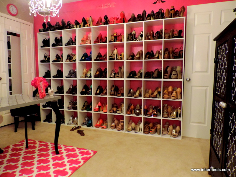 In Her Heels: THE GLAM ROOM- STYLED BY TJS