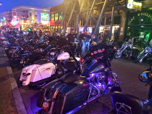 Memphis Beale Street Bike Night image
