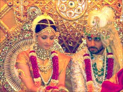 Aishwarya Rai And Abhishek Bachchan Marriage Photos