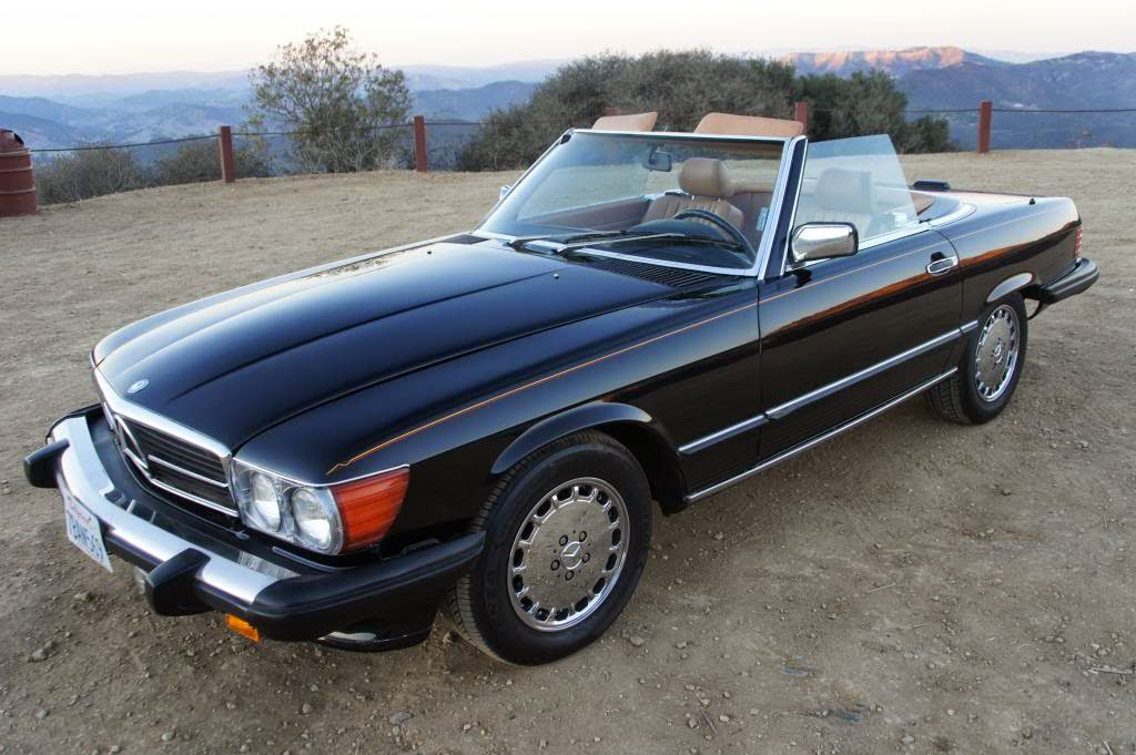 1989 mercedes benz sl class auto restorationice for Bob ross mercedes benz