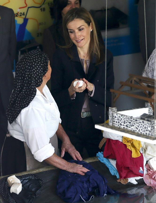 King Felipe - Queen Letizia - Style - Fashion - Magrit Shoes - Jimmy Choo Shoes - Felipe Varela Dress