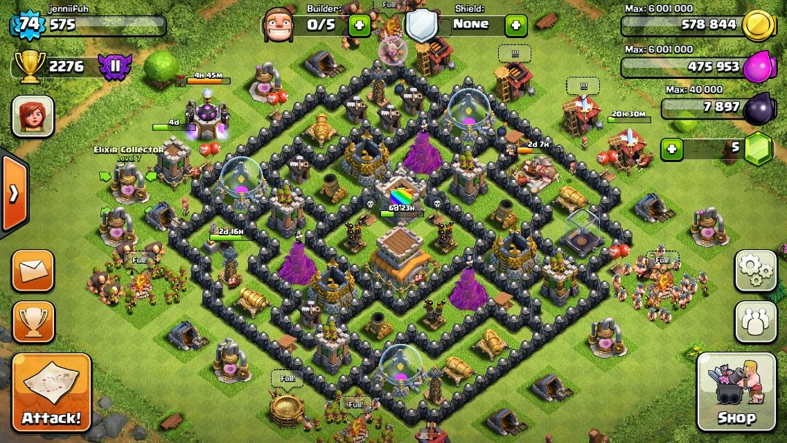 Clash of clans hints tips and bases