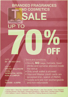 Branded Fragrances & Cosmetics Sale 2013