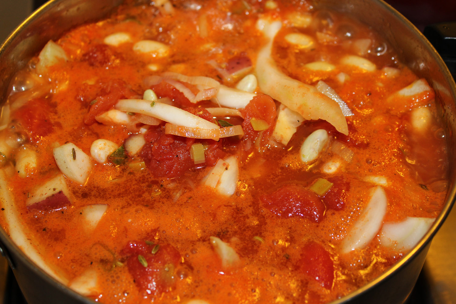 fooding: Tomato, Fennel, and White Bean Stew