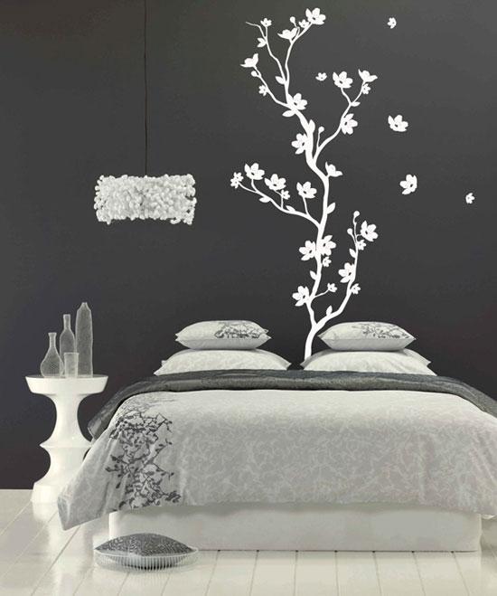 cr atives id es de papier peint chambre d cor de maison. Black Bedroom Furniture Sets. Home Design Ideas
