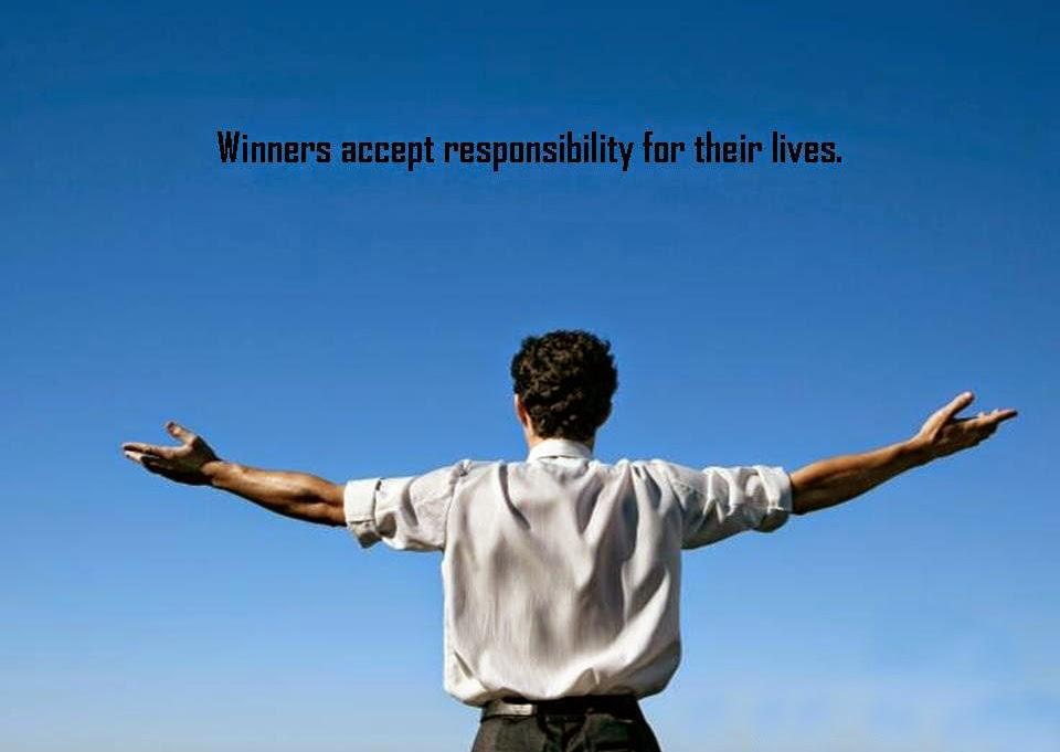 Pemenang menerima semua tanggung jawab