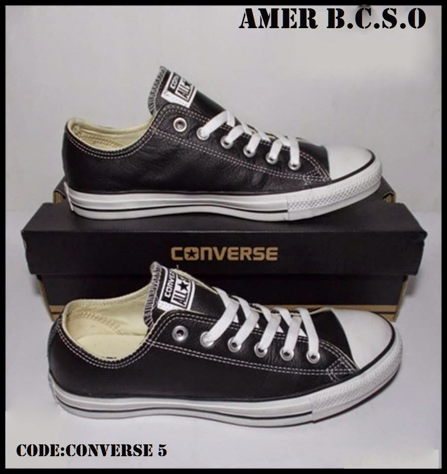 CONVERSE CT AS LEATHER OX BLACK