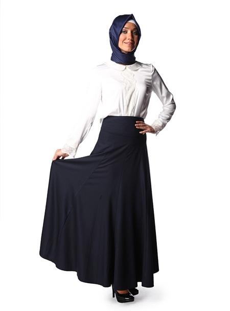 2013 Sonbahar Kış Puane Uzun Etek Modelleri