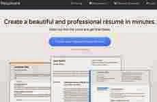 Resumonk: permite hacer un Curriculum Vitae online en cinco minutos