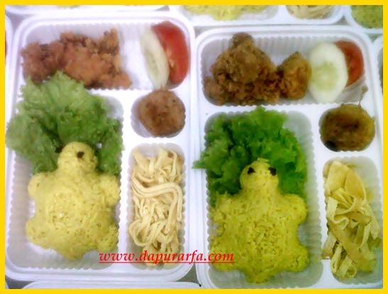 Dapur Arfa Bento Nasi Kuning
