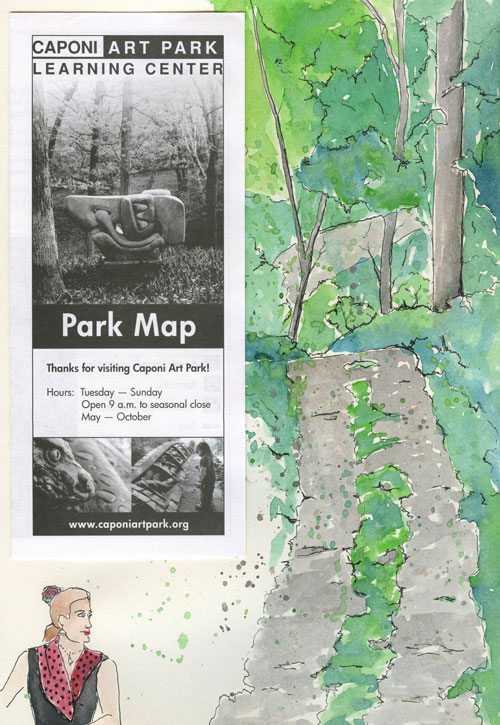Caponi Art Park - Urban Sketching