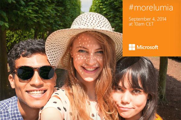 Microsoft #morelumia at IFA 2014