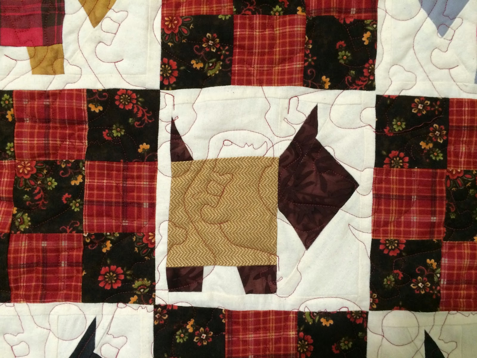 Pearl Combs's Scotty Dogs Quilt
