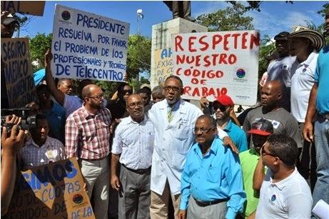 Técnicos canales 13 y 27 reclamaran frente al Palacio regalia y sueldos atrasados