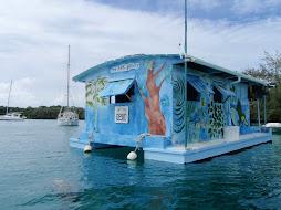 floating art gallery