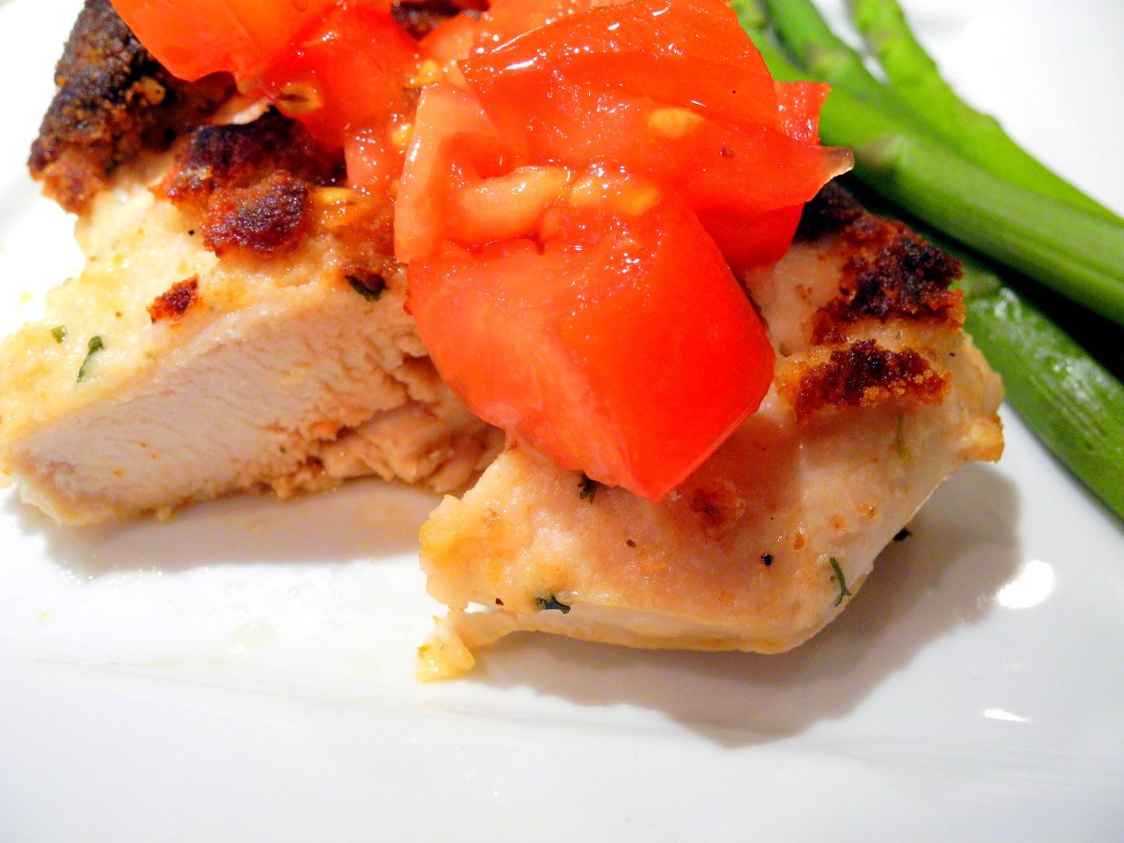 ... bruschetta parmesan crusted bruschetta parmesan crusted chicken