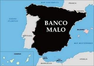 España.Mitosis bancaria: Banco bueno-banco malo