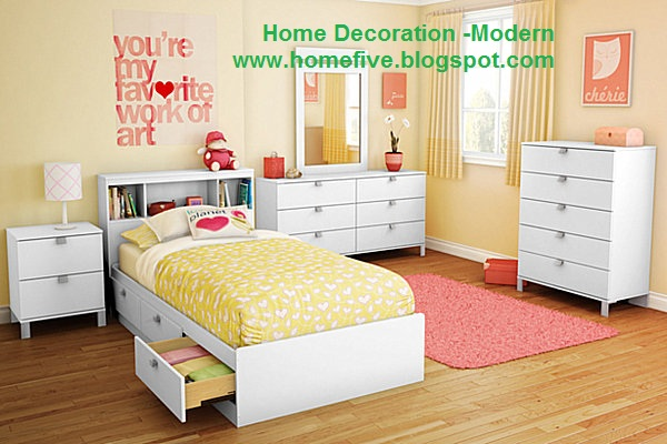 home decoration modern choosing colors for girls room