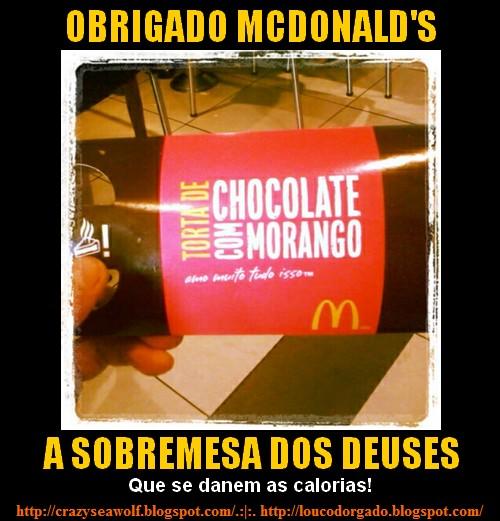 Obrigado McDonald's