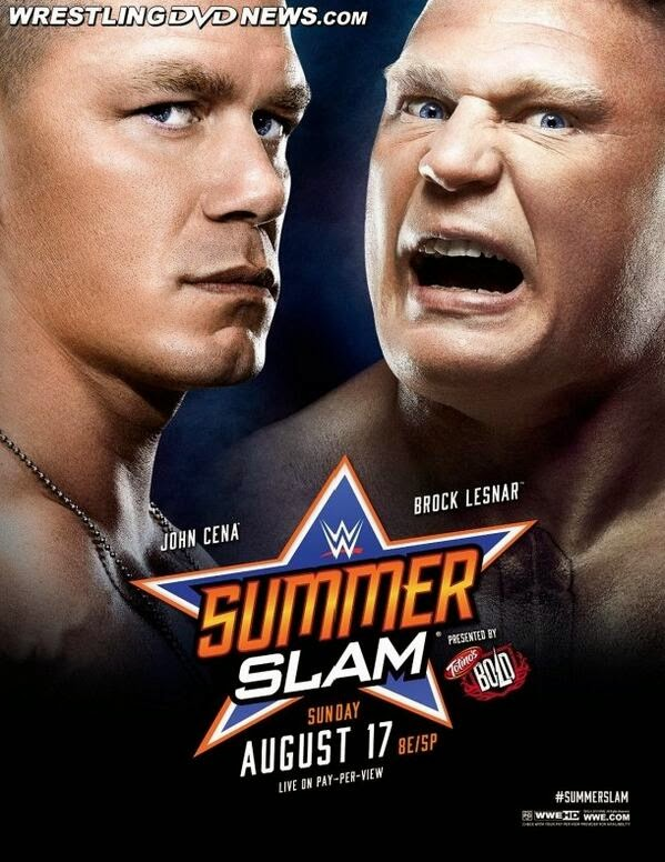SummerSlam 2014 PPV August 17th at the Staples Center