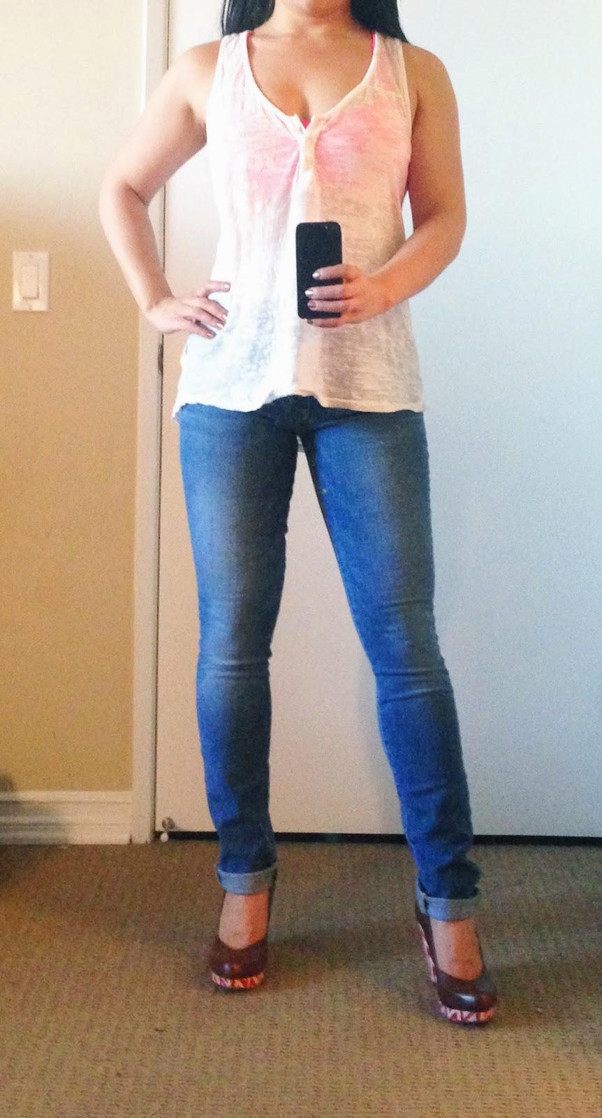 Joe's slim skinny fit jeans