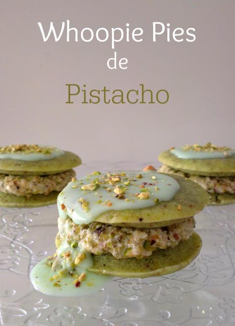receta de whoopie pies de pistacho