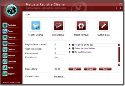 NETGATE Registry Cleaner 3.0.195.0