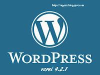 Wordpress versi 4.2 sudah tersedia