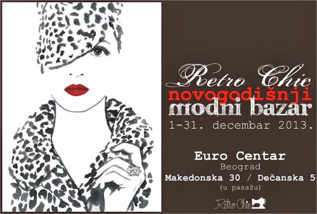 Novogodišnji Retro Chic Modni bazar