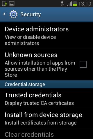 Cara menginstall aplikasi yang di block Android