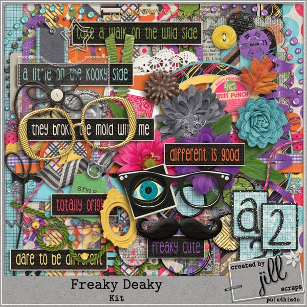NEW FREAKY DEAKY COLLECTON, BONUS COUPON & FREEBIE