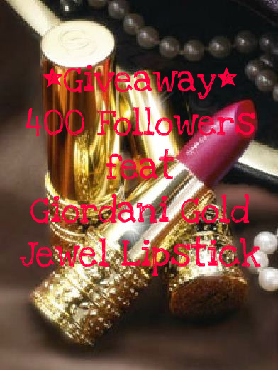 Lipgloss Affair's 400 Followers Giveaway