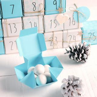 cajitas cajas calendario de adviento self packaging diy