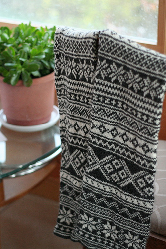 Fair Isle Knitting In The Round : Paper rock scissors december