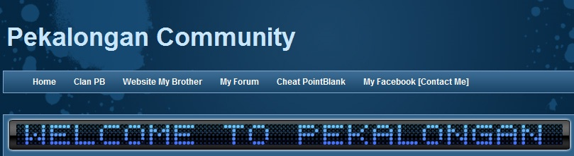 Pekalongan Cheater | Community | Cheat PB Terbaru 2011 - Pekalongan