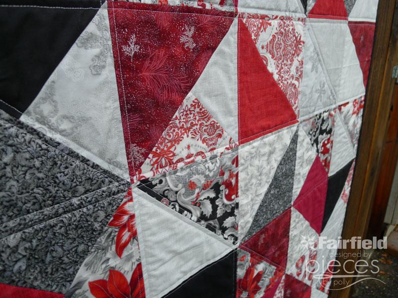 Pieces by Polly: Simple Christmas Fat-Quarter Quilt - Free Pattern ... : fat quarter quilt pattern free - Adamdwight.com