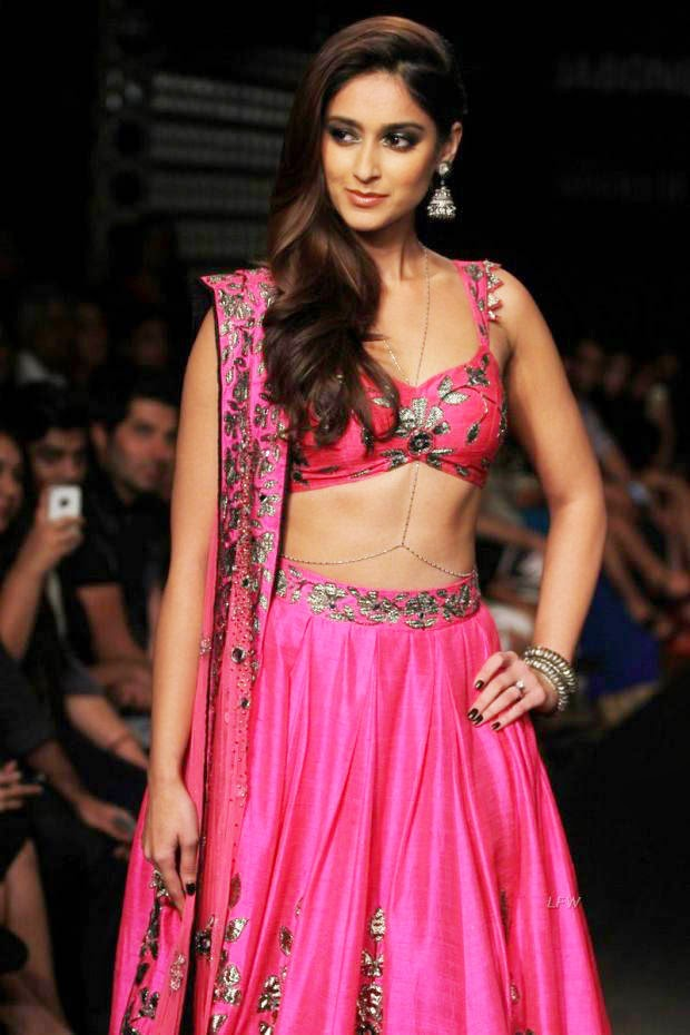 Illeana At Lakme Fashion Week Winter/Festive 2014