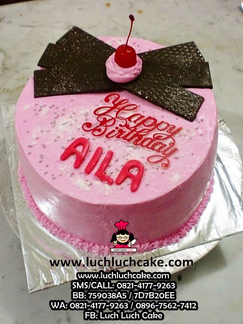 Kue Tart Pink Daerah Surabaya - Sidoarjo