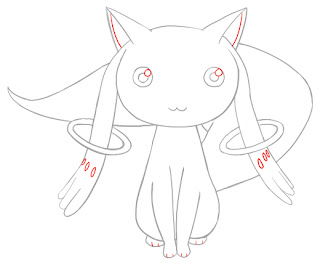 How To Draw Kyubey Step 8