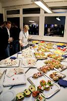 Einwandfreies Buffet: Häppchen auf der Echtzeit München