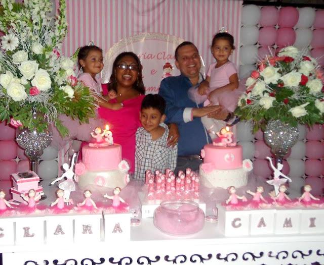 Festa Bailarina - Maria Clara e Camila