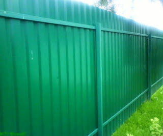 Забор из профлиста. Фото 30