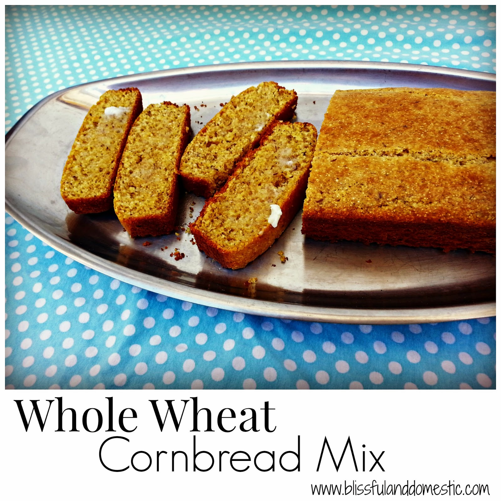 Whole Wheat Cornbread Mix...